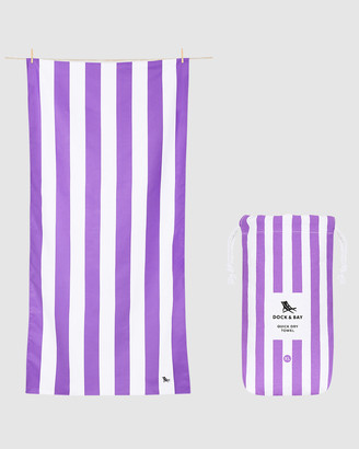 Dock & Bay Extra Large Beach Towel 100% Recycled Cabana Collection