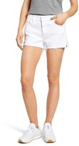 Mother Women's Teaser High Waist Cutoff Denim Shorts