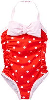 Kate Spade Polka Dot One-Piece Swimsuit (Big Girls)