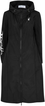 Off-White Athleisure Black Shell Coat