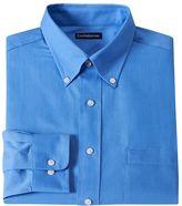 Croft & Barrow Men's Fitted Solid Twill Dress Shirt