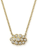 "Ippolita 18K Yellow Gold Glamazon® Starlet Mini Pendant Necklace with Diamonds, 15"""