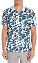 AG Jeans Men's Aerial Print Polo