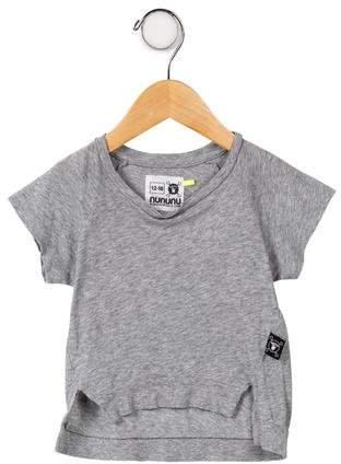 Nununu Girls' Short Sleeve Top