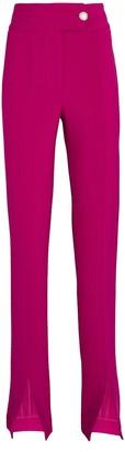 Veronica Beard Jessamy Front Slit Trousers