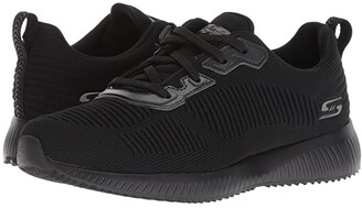 BOBS from SKECHERS Bobs Squad - Tough Talk (Black/Black) Women's Shoes