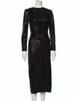 Thumbnail for your product : Lake Studio Bateau Neckline Long Dress Black