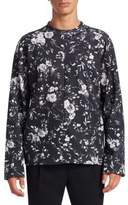 McQ Floral-Print Sweater