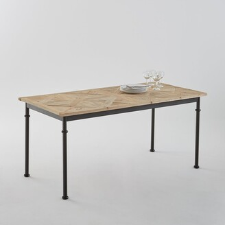 La Redoute Interieurs Mosaique Recycled Pine Dining Table (Seats 6)