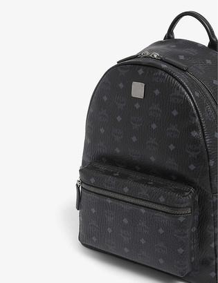 MCM Stark medium coated-canvas backpack
