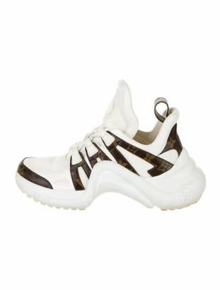 Louis Vuitton Printed Chunky Sneakers White
