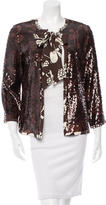 Tory Burch Sequined Gladys Jacket