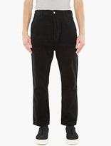 Ami Black Relaxed Fit Cords