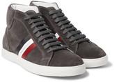 Moncler La Montecarlo Suede High-top Sneakers