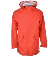 Converse Rubber Fishtail Parka Jacket Red