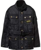 Barbour Black International Quilt Jacket