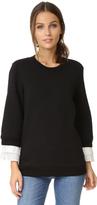 Clu Pleated Sweatshirt