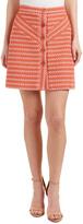 Maje Jalil Wool-Blend Mini Skirt