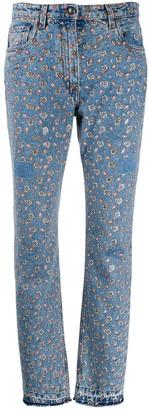 Etro Micro Paisley print jeans