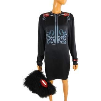 Holly Fulton Black Silk Dress for Women