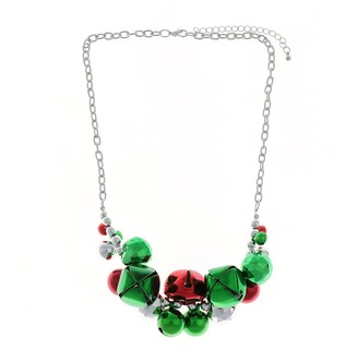 Holiday Jingle Bell Statement Necklace