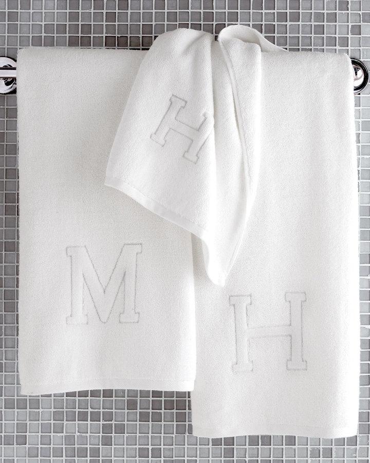 Matouk Auberge Monogrammed Bath Towels