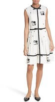Ted Baker Women's Ilvy Embroidered Fit & Flare Dress