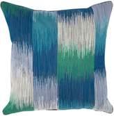 """Yves Delorme Iosis Bigarade Decorative Pillow - Indigo 17"""" x 17"""""""