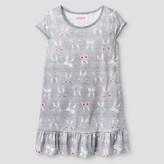 Cat & Jack Girls Nightgown Cat & Jack - Grey