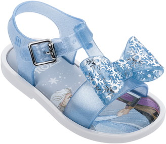 Mini Melissa x Disney Frozen Mar Glitter Sandal