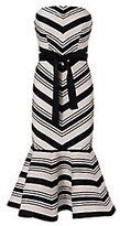 Alexis Kirsten Strapless Stripe Dress