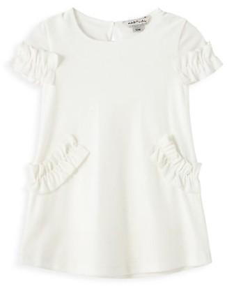 Habitual Baby Girl's Velour Ruffle Dress