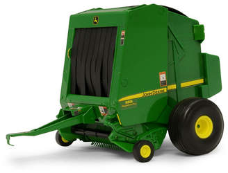 Tomy John Deere 1/16 Scale 569 Round Baler with Bale
