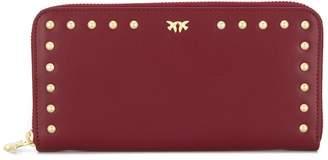 Pinko studded love bird purse