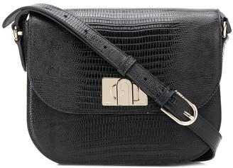 Furla Textured Shoulder Bag