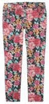 Mossimo Women's Plus-Size Printed Skinny Denim Jeans - Blush Pink Print