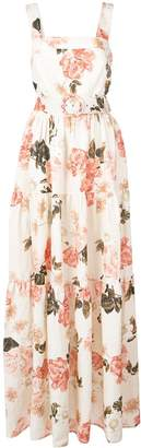 Nicholas long floral day dress
