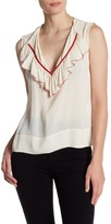 Plenty by Tracy Reese Beaded Trim Blouse