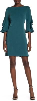 Taylor Ruffle Sleeve Dress