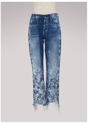 3x1 3 X 1 W3 Higher Ground Crop jeans