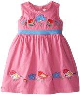 Jo-Jo JoJo Maman Bebe Birdie Dress (Baby) - Orchid-12-18 Months