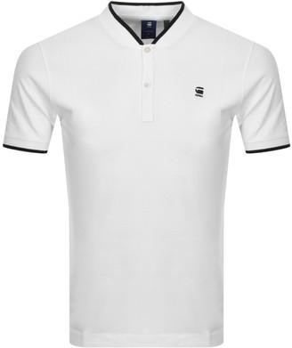 G Star Raw Sport Slim Polo T Shirt White