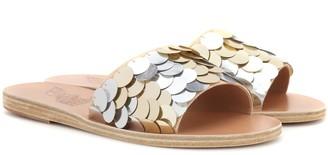 Ancient Greek Sandals Taygete sequin slides