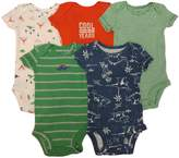 Carter's Baby Boy Bodysuits 5pc Shirt Sleeves