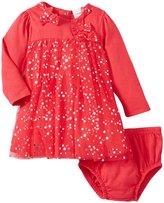 Absorba Magenta Holiday Dress (Baby) - Dark Pink-3-6 Months