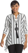Chico's Striped Play Tunic