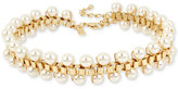 INC International Concepts M. Haskell for Gold-Tone Imitation Pearl Choker Necklace, Only at Macy's