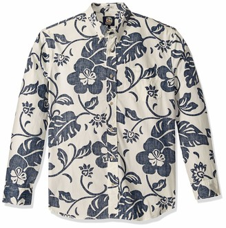 Reyn Spooner Men's Long Sleeve Hawaiian Shirt