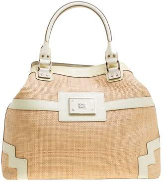 Anya Hindmarch Beige Patent leather Handbags