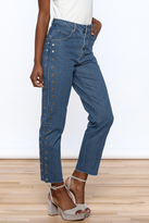 Honey Punch Cropped Boyfriend Jeans